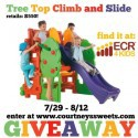 Tree Top Climb and Slide from ECR4Kids – Review & Giveaway
