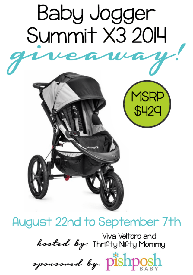 Baby Jogger Summit X3 Giveaway!