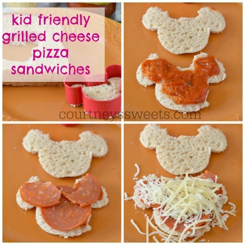 Grilled Cheese Pizza Sandwiches Family Favorites #shop