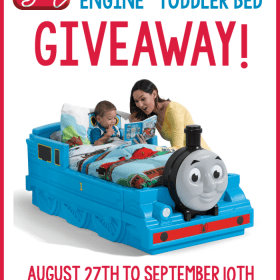 Step2 Thomas Bed Giveaway