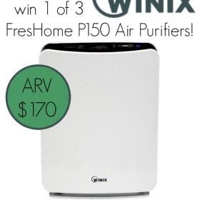 Winix FresHome P150 Air Purifier giveaway