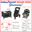 Baby Tend Play Yard, Car Seat, and Jogger – Ultimate Baby Shower Giveaway