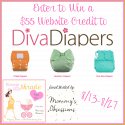 $55 Credit to Diva Diapers Giveaway