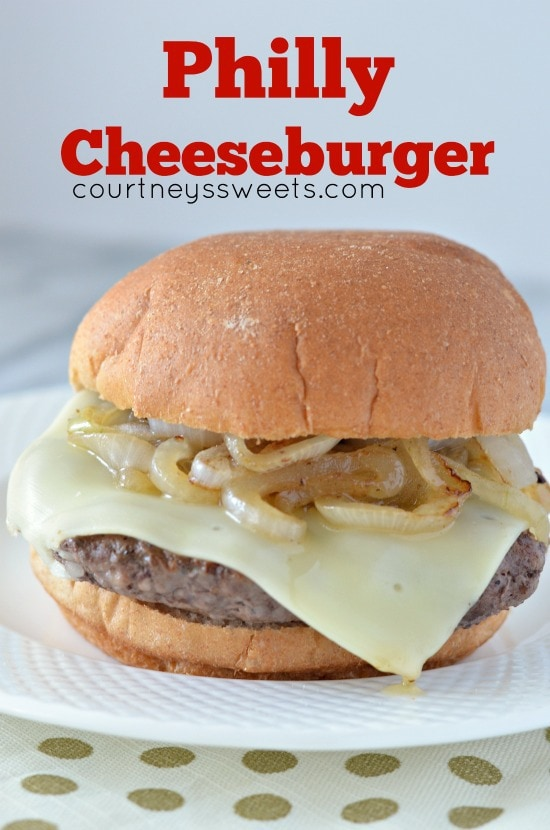 philly cheeseburger