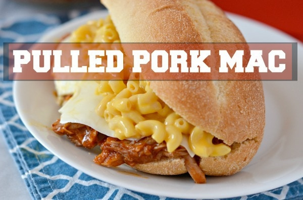 Pulled Pork Mac - Budget Friendly meals #RollIntoSavings #Shop