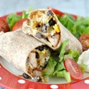 Cheesy Fiesta Chicken Burritos #FDKnorrDinner Giveaway