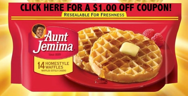Aunt Jemima Frozen Waffle Coupon Image #shop