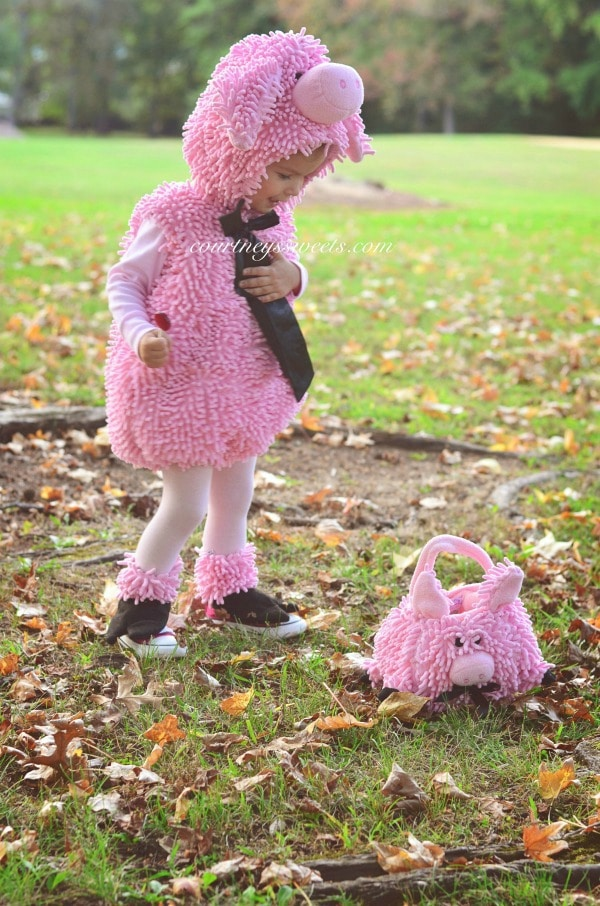 Squiggly Piggy Toddler Halloween Costume | Chasing Fireflies