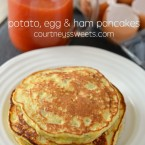 Potato, Egg and Ham Pancakes - Kid Approved, Kid Friendly Recipe