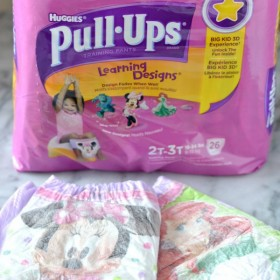 Potty Training with #PullUpsAcademy