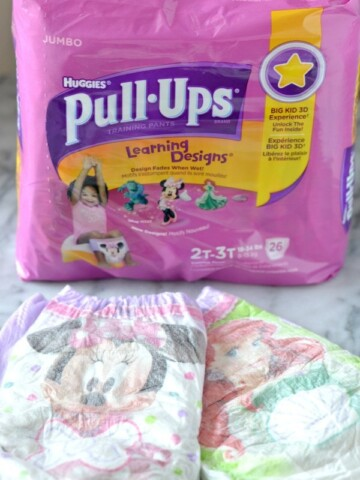 Potty Training with #PullUpsAcademy