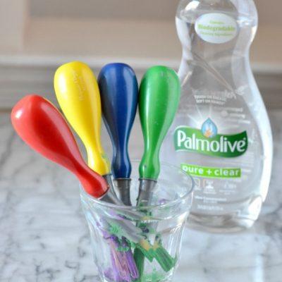 Get Acrylic Paint Off Paint Brush   Palmolive