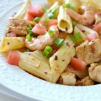 Guy Fieri's Penne with Cajun Shrimp and Chipotle Chicken