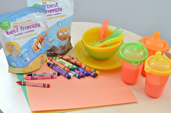 Find Your Color, Place Setting Activity