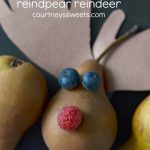 Rudolph The Red Nosed Reindpear Reindeer Craft