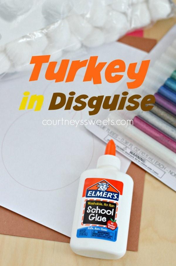 Snowman (Snowbird) Turkey in Disguise