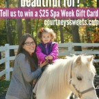 win a $25 Spa Week Gift Card