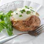 Air Fryer Baked Garlic Parsley Potatoes Recipe