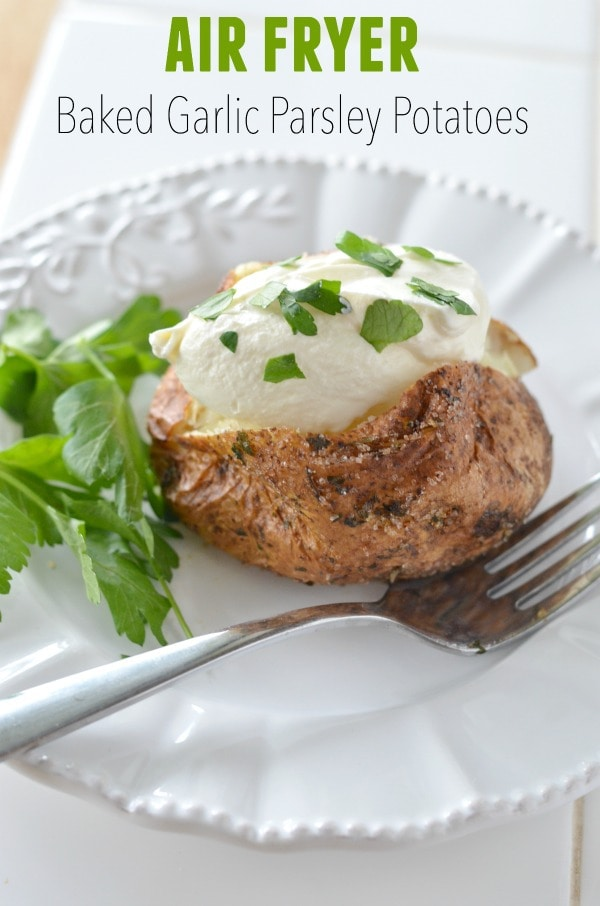 Are you ready to make the best air fryer baked potato you'll ever taste?