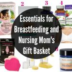 Breastfeeding Essentials Gift Basket for Nursing Moms