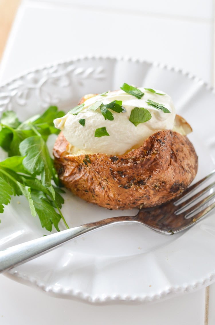 how to cook baked potatoes in airfryer