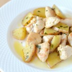 chicken scampi with buttery potatoes