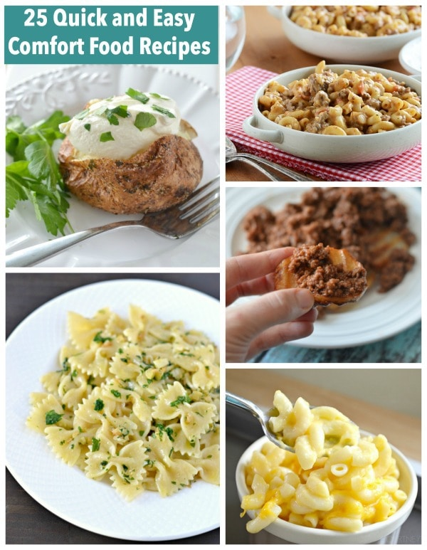 Easy Comfort Foods to Make 25 Quick And Easy Comfort Food