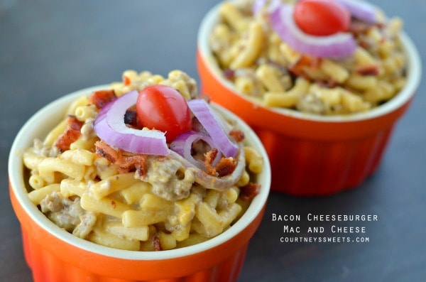 Bacon Cheeseburger Mac and Cheese