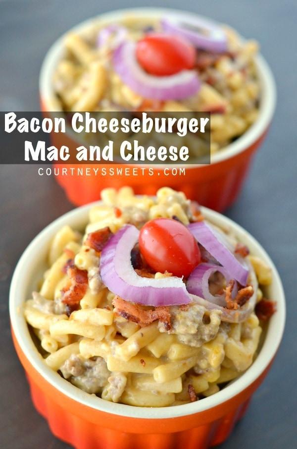 Bacon Cheeseburger Mac and Cheese