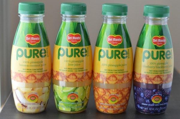 pineapple pure earth juice
