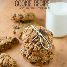 Lactation Boosting Cookie Recipe This Lactation Boosting Cookie Recipe is filled with brewers yeast, oatmeal, quinoa flakes, flaxseed, pumpkin seeds and a few chocolate chips. ;-) I originally wanted to make a Lactation Cookie Recipe using coconut oil but the butter in this recipe really gives the cookie a better texture.