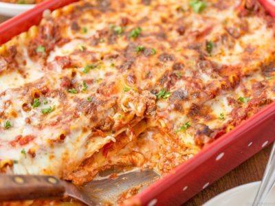 meat lasagna recipe