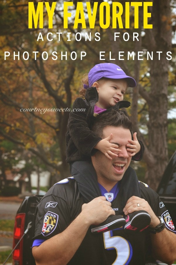 my favorite actions for photoshop elements