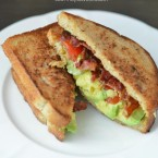 Bacon Avocado and Tomato Sandwiches BLT Avocado Sandwich