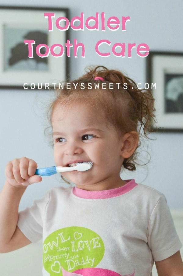 Toddler Tooth Care, plus enter the Smilestone Contest from Orajel