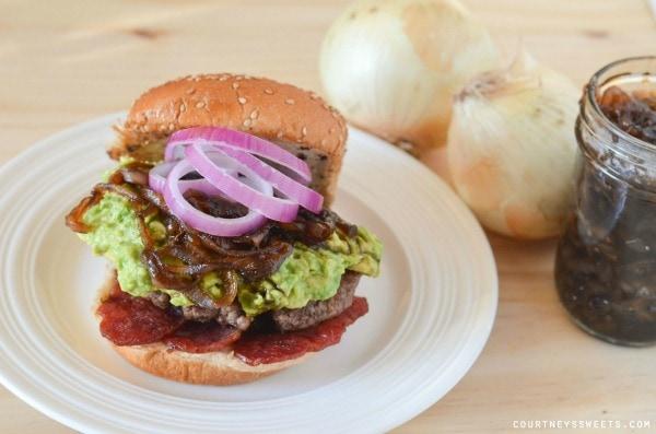 Avocado Bacon Burger with