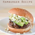 Avocado Blue Cheese Hamburger Recipe