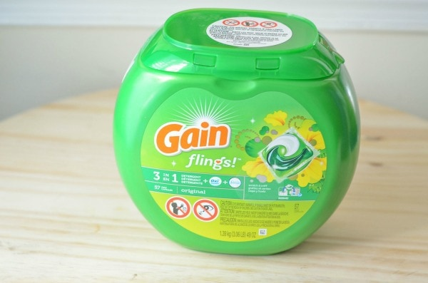 how to remove stains from clothes easily with gain flings 3 in 1 detergent