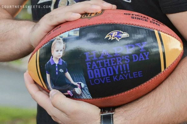 Wilson Custom Football  Personalize Father's Day