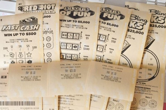 New Jersey has a NEW instant Win Lottery Game, Fast Play !