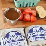 Strawberry Banana Klondike Bar Recipe | Treating Myself More – Target Ice Cream Sale! #MoreTreats