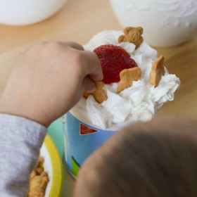 After School Snacks Pudding and Cookie Cups