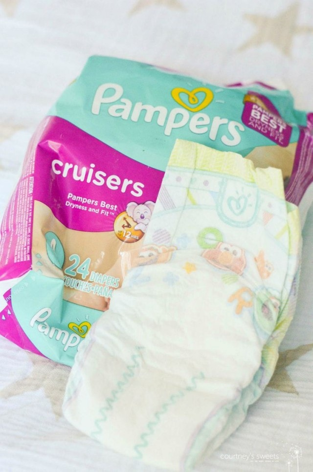 pampers new cruisers and swaddlers diapers for overnight and on the go