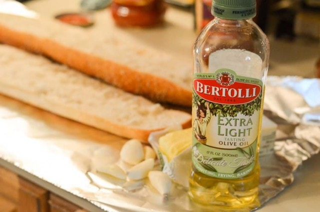 Chicken Parmesan with Zucchini and Mushrooms with Homemade Garlic Bread / Italian Surprise Party Feast. 2 Easy Recipes and find all the ingredients like Bertolli products at your local Ahold Supermarket!