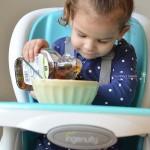 Homemade Maple Yogurt Recipe / Ingenuity Trio 3-in-1 SmartClean High Chair