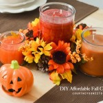 DIY Affordable Fall Centerpiece