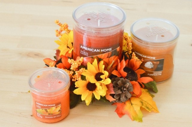 New Yankee Candle Fragrance Collection at Walmart and our Kitchen Table Fall Decor