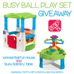 Step2 Busy Ball Play Set Giveaway