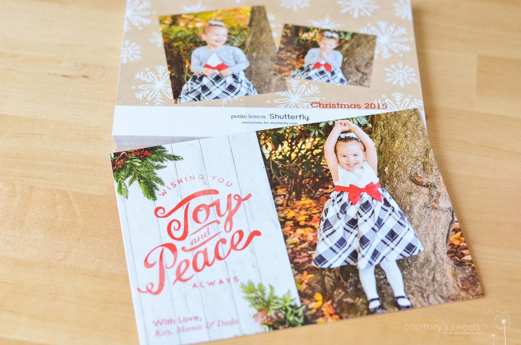 Making Shutterfly Holiday Cards (now en Español) #MiVidaShutterfly
