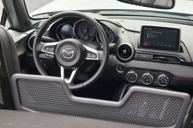 2016 Mazda MX-5 Miata Grand Touring interior